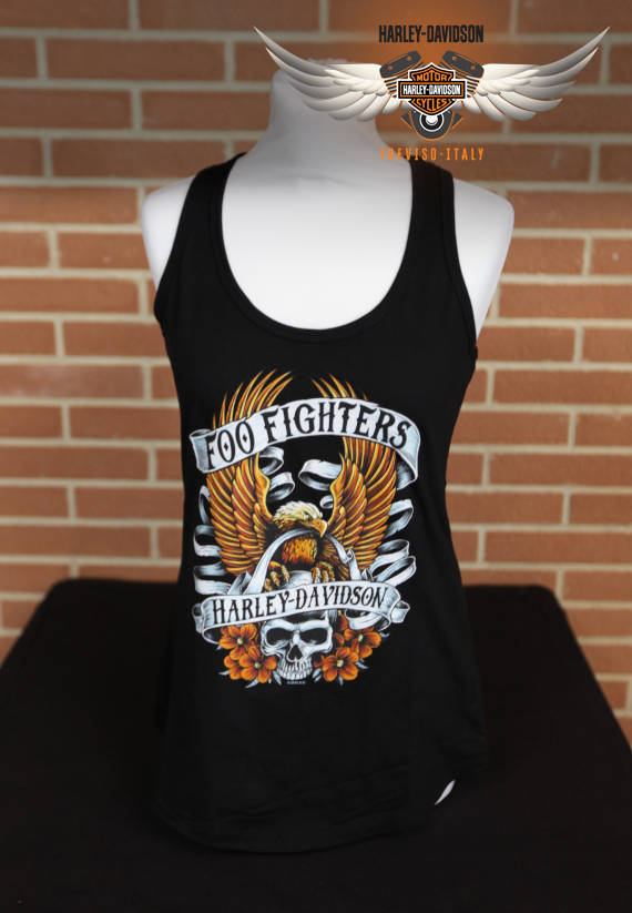 CANOTTA FOO FIGHTERS SKULL EAGLE TANK