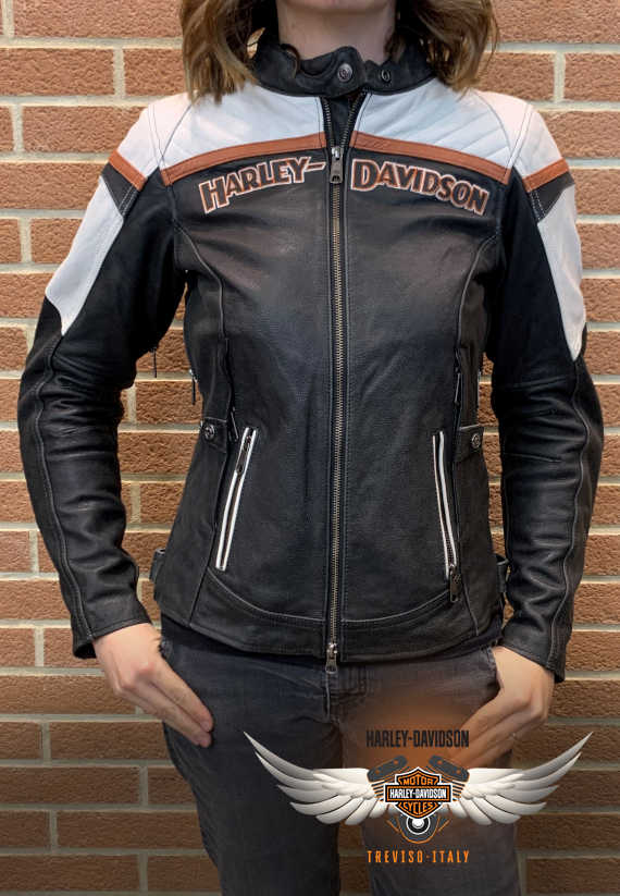 GIACCA HARLEY-DAVIDSON TRIPLE VENT MISS ENTHUSIAST II