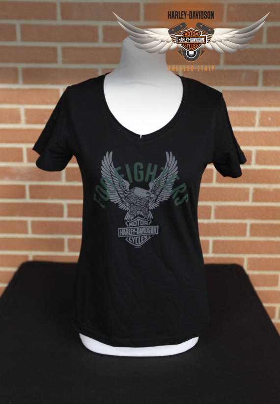 T-SHIRT FOO FIGHTERS UPSWEPT EAGLE