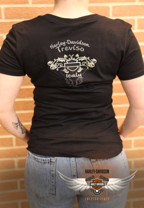 T-SHIRT HARLEY-DAVIDSON FREEDOM ROSE