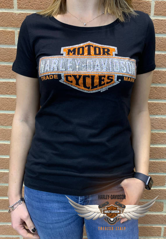 T-SHIRT MANICA CORTA MULTIPLY ORANGE