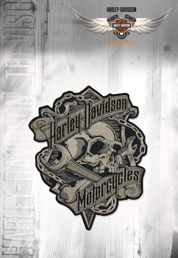 PATCH HARLEY-DAVIDSON TESCHIO