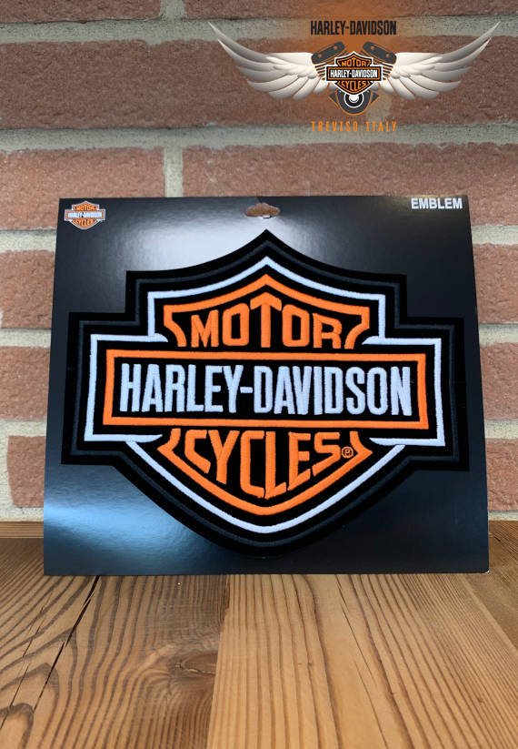 PATCH HARLEY-DAVIDSON BAR & SHIELD