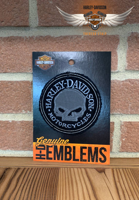 PATCH HARLEY-DAVIDSON TESCHIO IN TESSUTO