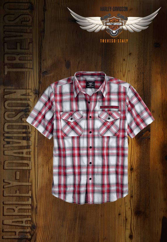 Camicia Harley-Davidson Checkerboard Plaid