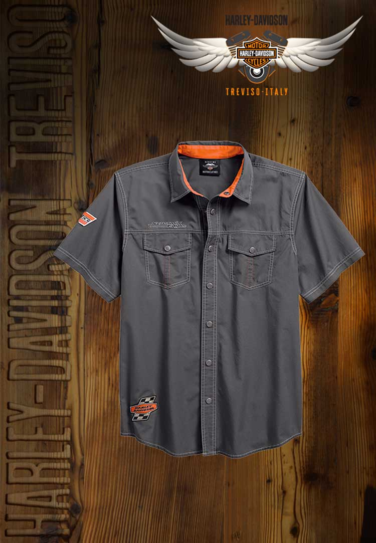 Camicia Harley-Davidson Screamin Eagle Shirt