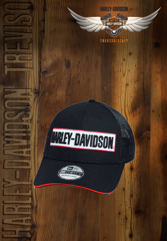 CAPPELLO HARLEY-DAVIDSON MENS BLACK 39THIRTY