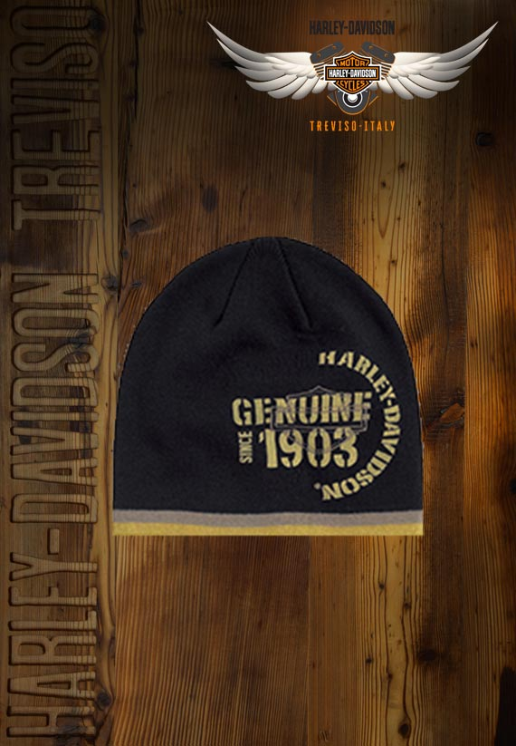 Berretto Harley-Davidson Black Genuine Knit Hat
