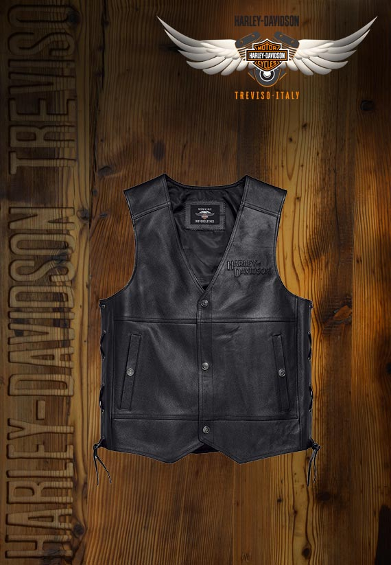 Gilet Harley-Davidson Tradition II Leather Vest