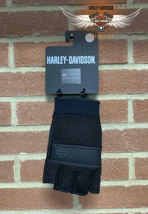 GUANTI HARLEY-DAVIDSON REMOVABLE PAD FINGERLESS