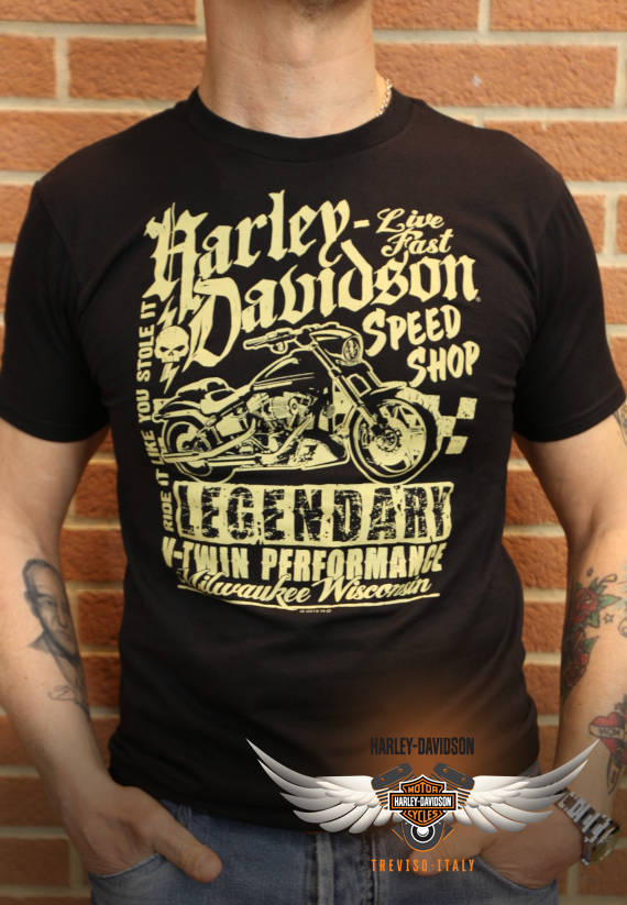 T-SHIRT HARLEY-DAVIDSON SPEED MC