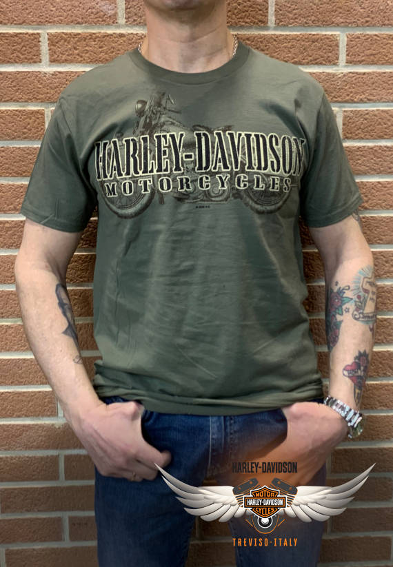 T-SHIRT HARLEY-DAVIDSON WAR NAME